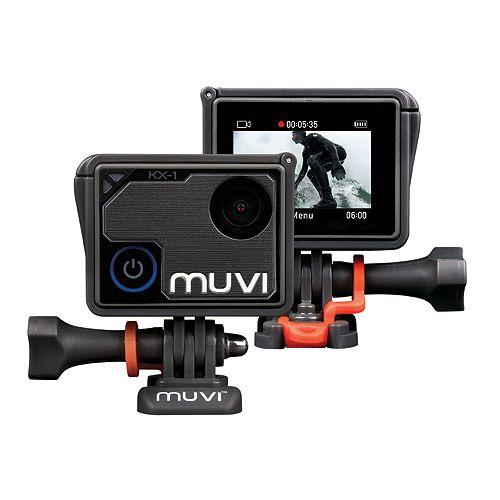 Caméra d'action mains libres MUVI KX-1 Wi-Fi 4K