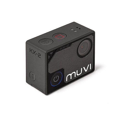 Caméra d'action mains libres MUVI KX-2 Wi-Fi 4K