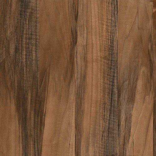 Planked California Walnut 144-inch x 60-inch Laminate Sheet in SoftGrain Finish