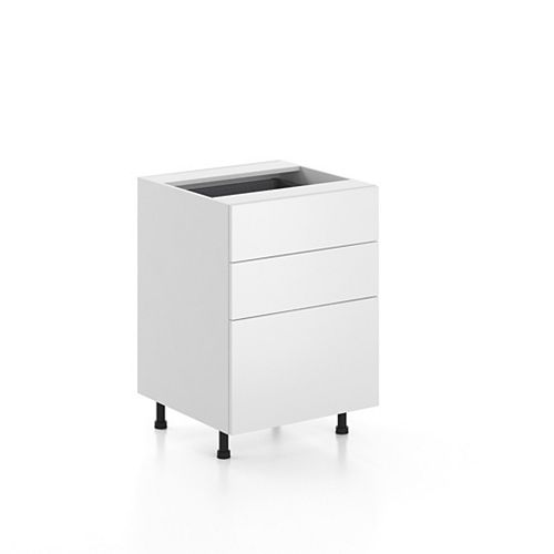 Base Cabinet 3 Drawers Alexandria 24 inch