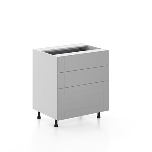 Base Cabinet 3 Drawers Cambridge 30 inch