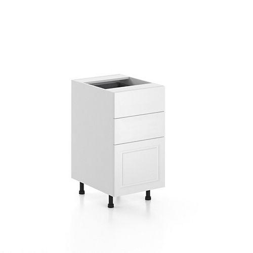 Base Cabinet 3 Drawers Florence 18 inch