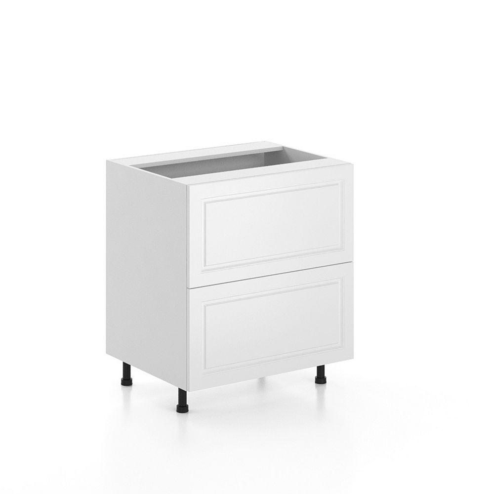 Eurostyle Base Cabinet 2 Drawers Florence 30 inch