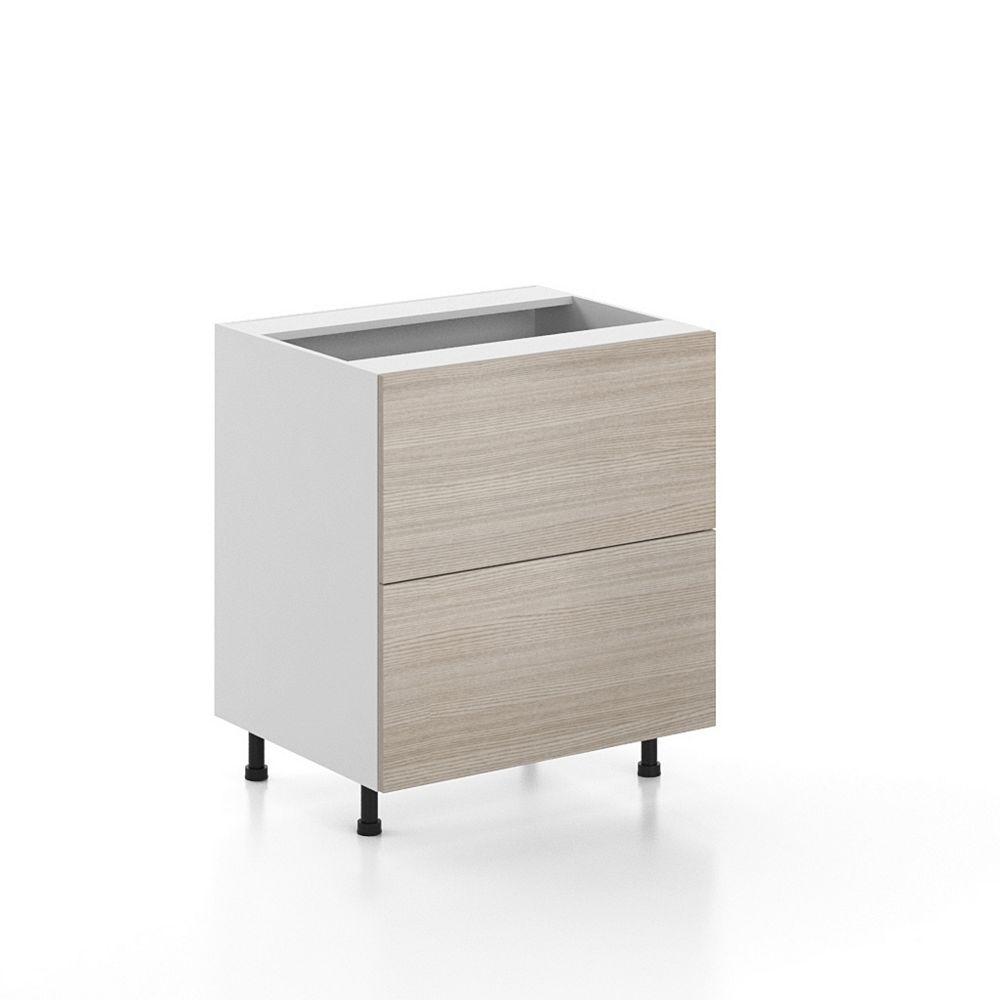 Eurostyle Base Cabinet 2 Drawers Geneva 30 inch