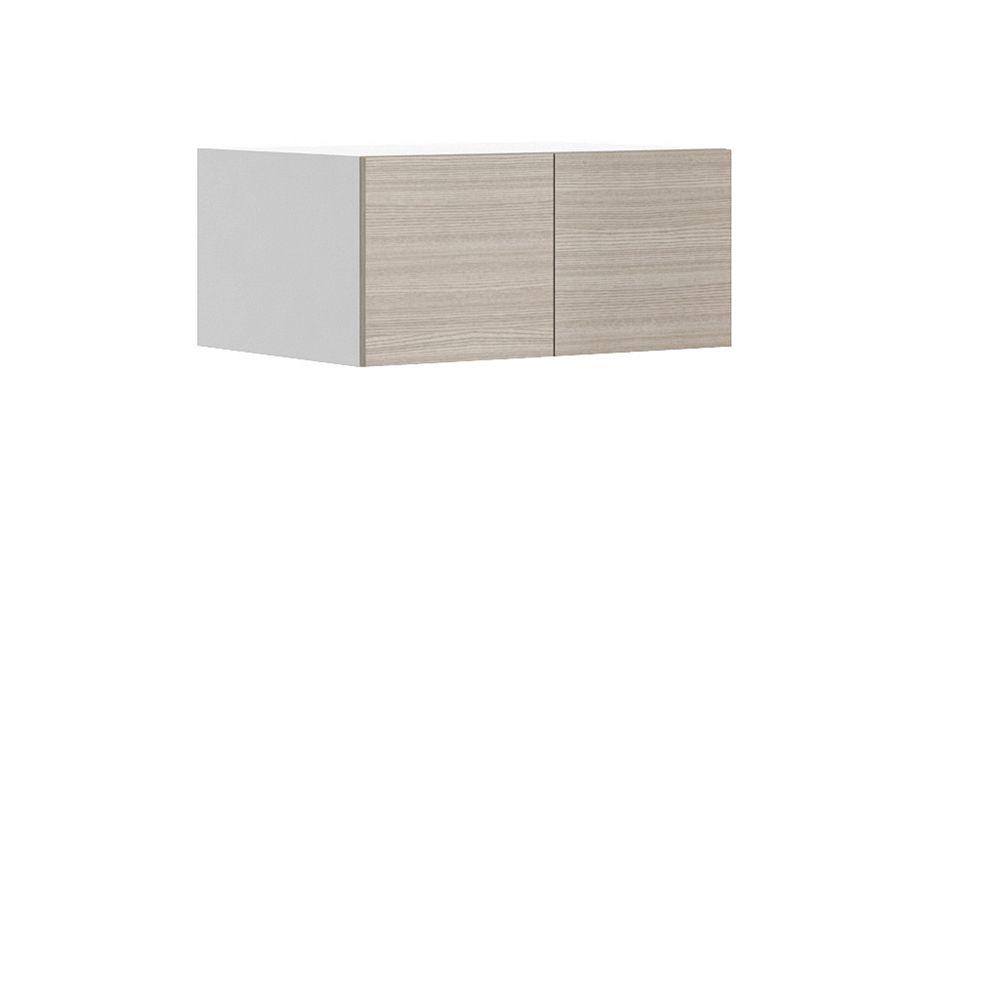 Eurostyle Wall Deep Cabinet Geneva 33 x 15 x 24 inch