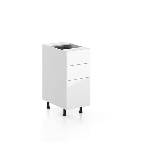 Base Cabinet 3 Drawers Valencia 15 inch