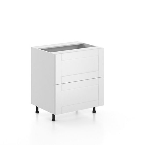 Base Cabinet 2 Drawers Oxford 30 inch