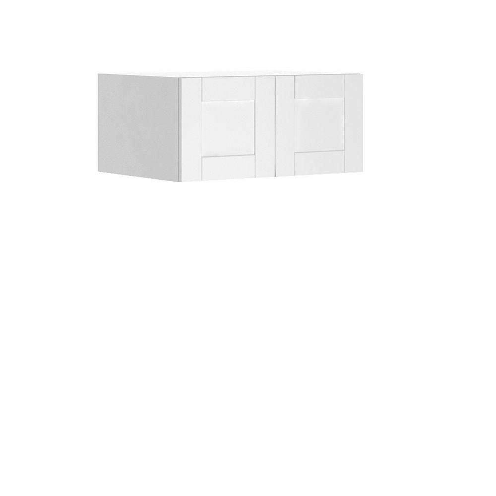 Eurostyle Wall Deep Cabinet Oxford 33 x 15 x 24 inch