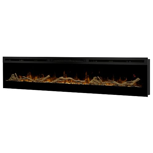 """Driftwood and River Rock for 74"""" Linear Fireplace"""