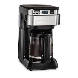 Programmable Easy Access Coffee Maker in Black