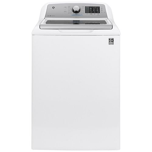 5.5 cu. ft. (IEC) Capacity Top Load Washer with FlexDispense in White