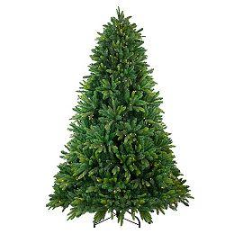 6.5' Pre-Lit Gunnison Pine Artificial Christmas Tree - Warm White LED Lights