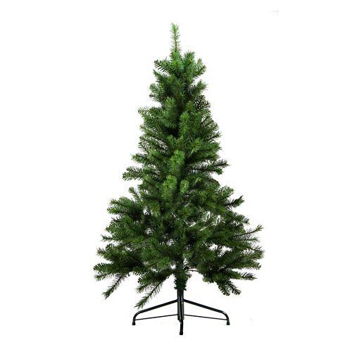 "Northlight 4.5' x 35"" Medium Mixed Pine Artificial Christmas Tree - Unlit"