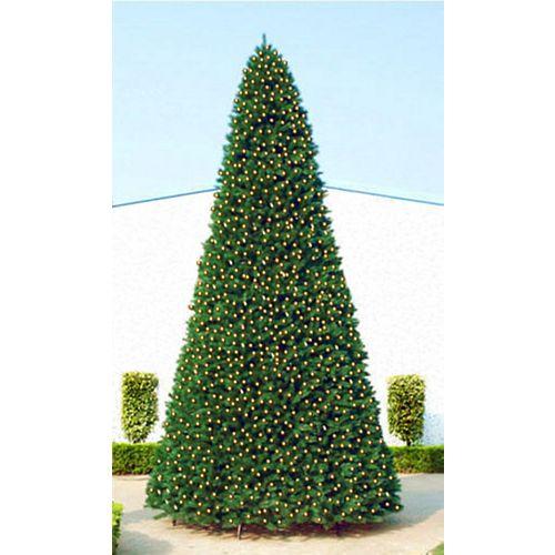Taille commerciale Pin artificielle d'arbres de Noël - 12 pieds lumières claires
