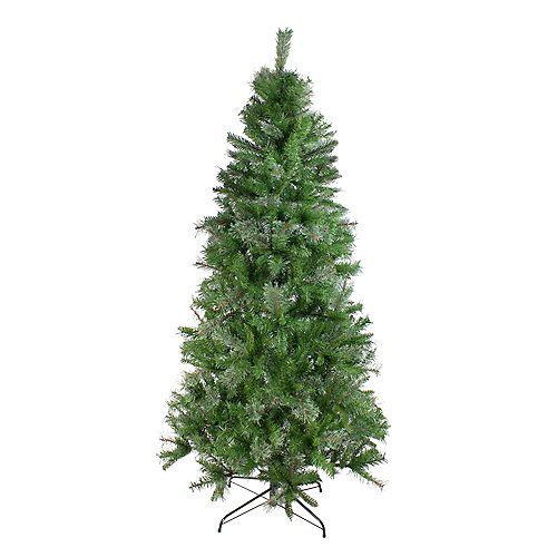 6.5' Medium Mixed Cashmere Pine Artificial Christmas Tree - Unlit