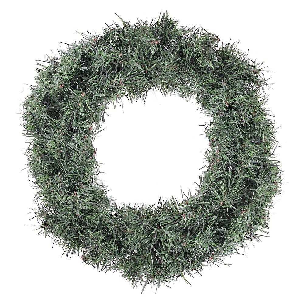 "Northlight 12"" Green Mini Canadian Pine Artificial Christmas Wreath - Unlit"