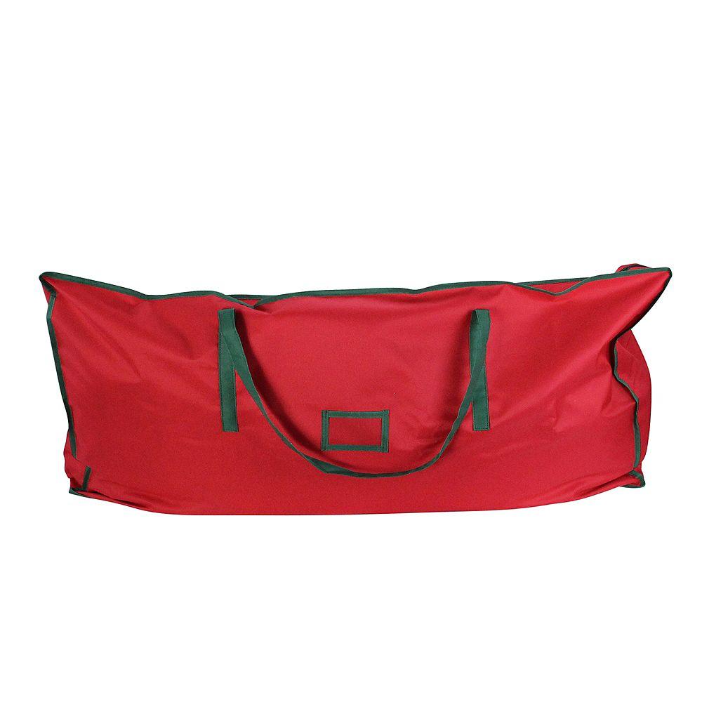 "Northlight 43"" rouge et vert polyvalent sac de rangement de Noël"