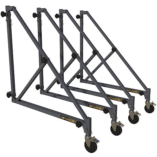 Metaltech 46 inch Outriggers for 6 ft. Scaffold