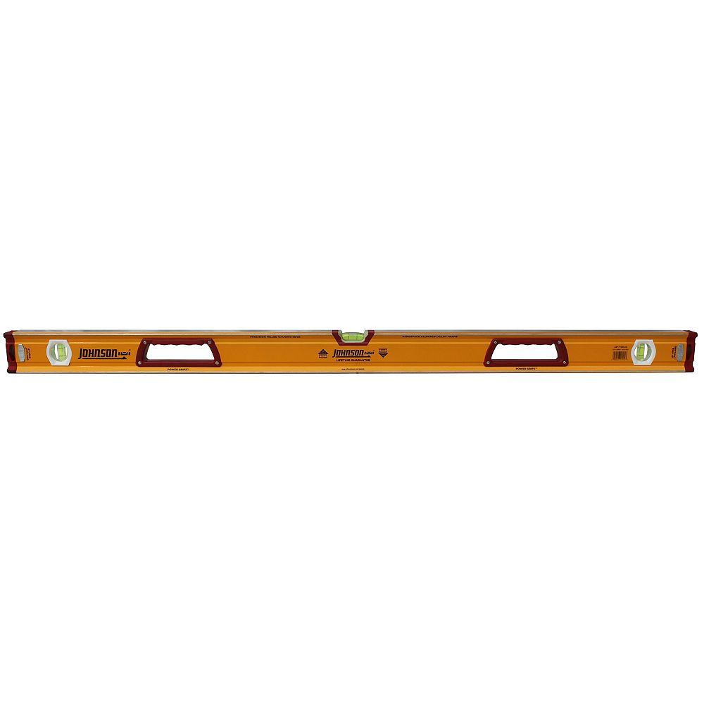 Johnson level 48 inch Heavy Duty Orange Aluminum Box Level