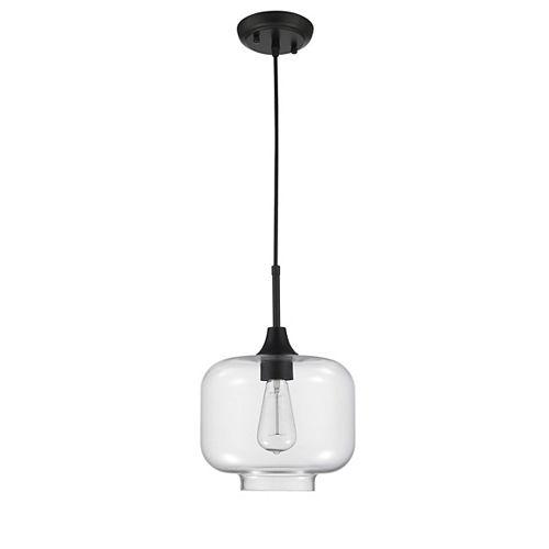 Luminaire suspendu chrome à 1 lumière de la collection Limbourg