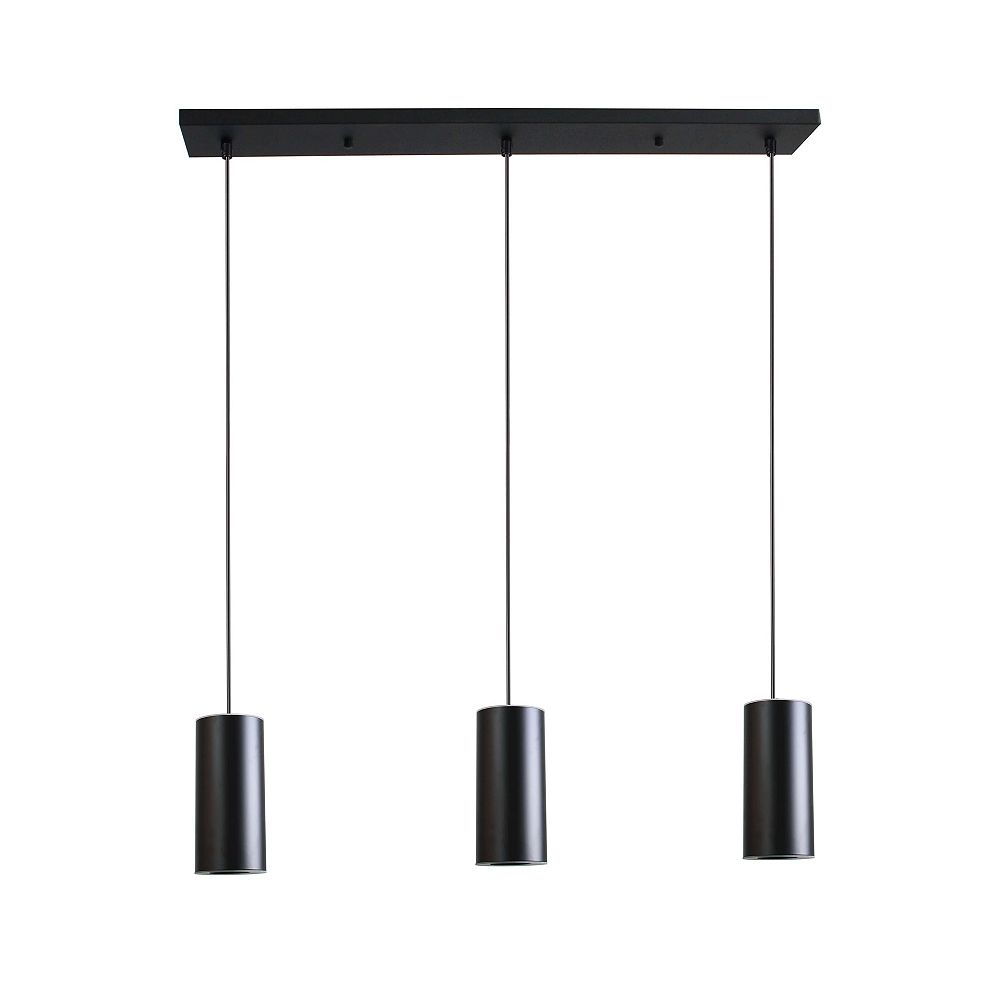 Beldi Inc. Kipnuk Collection 3-Light Black Pendant Light