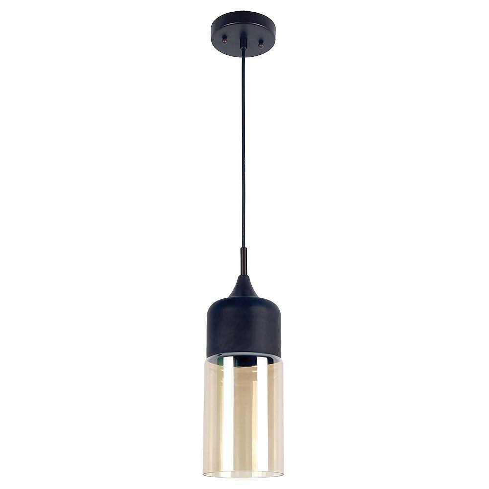 Beldi Inc. Popoli Collection 1-Light Black Pendant Light