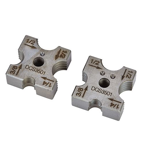 1/4-INCH, 3/8-INCH, 1/2-INCH REPLACEMENT CUTTING DIE SET