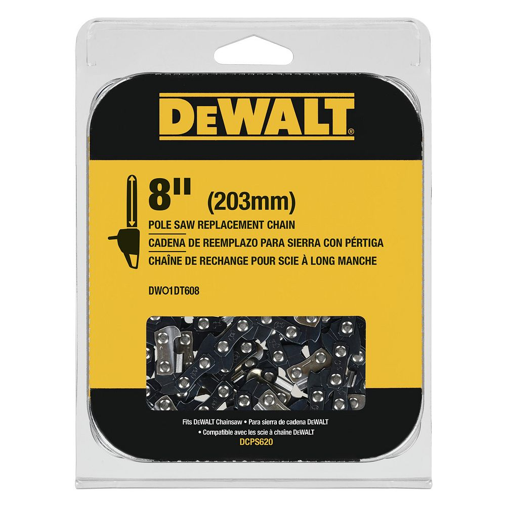 DEWALT 8-INCH POLE SAW REPLACEMENT CHAIN