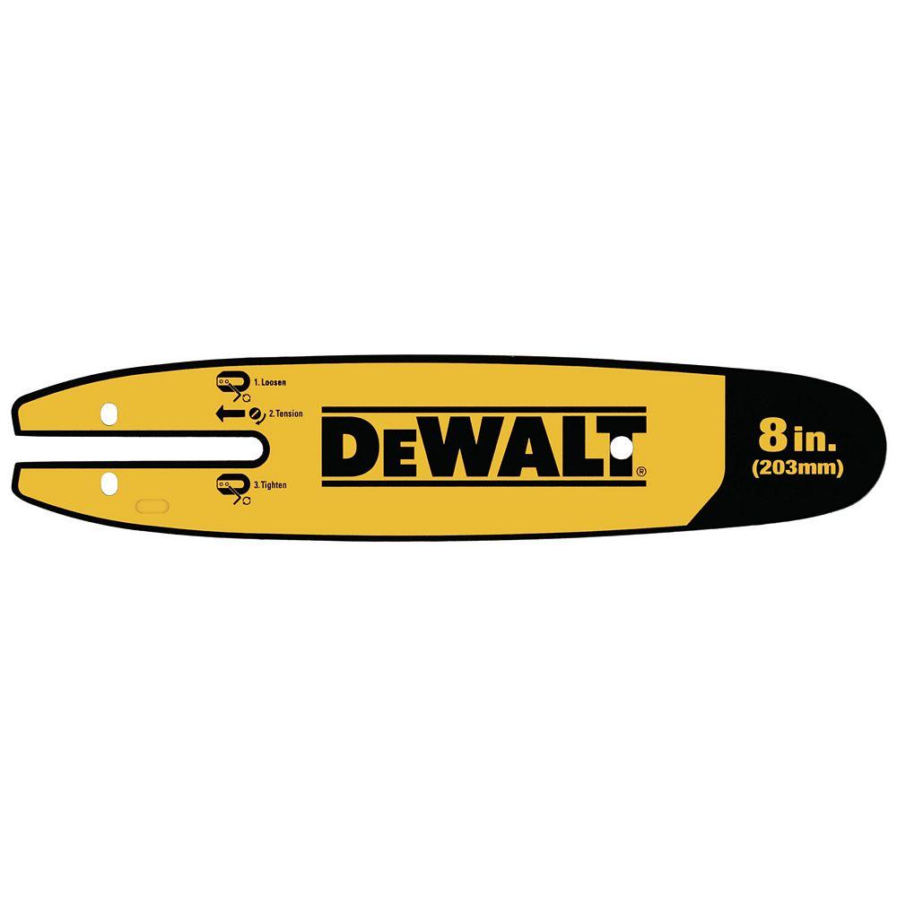 DEWALT 8-INCH POLE SAW REPLACEMENT BAR
