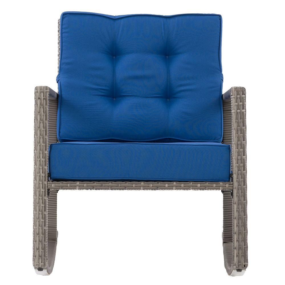Corliving Chaise berçante de plein air de Parksville
