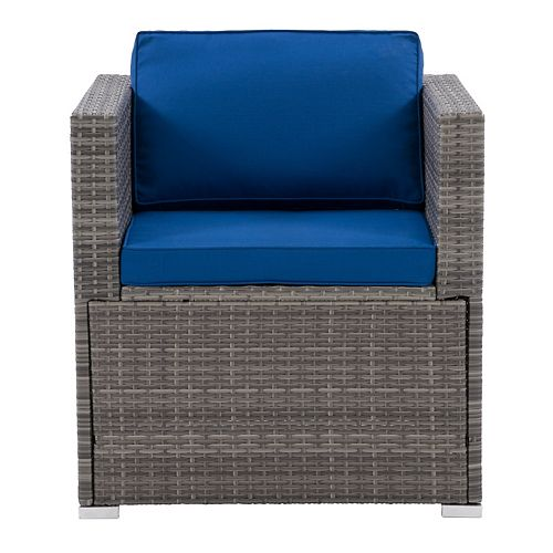 Corliving CorLiving Parksville Patio Sectional Armchair