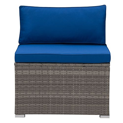 Corliving CorLiving Parksville Patio Sectional Middle Chair