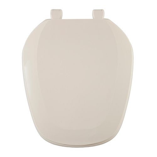 Centoco Eljer Emblem Round Square Front Toilet Seat in Natural