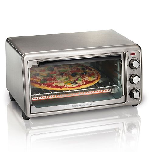 6-Slice Toaster Oven in Stainless Steel