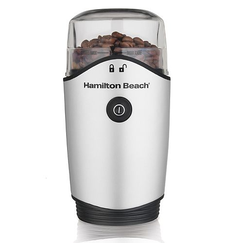 12-Cup Coffee Grinder in Stainless Steel