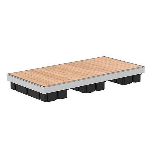 5 ft x 10 ft Low profile Aluminum Floating Dock