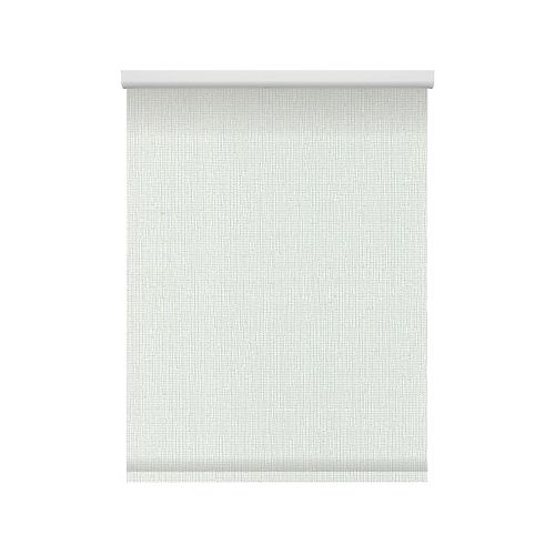 Textured Roller Shade - Chainless with Curved Valance - 45-inch X 72-inch
