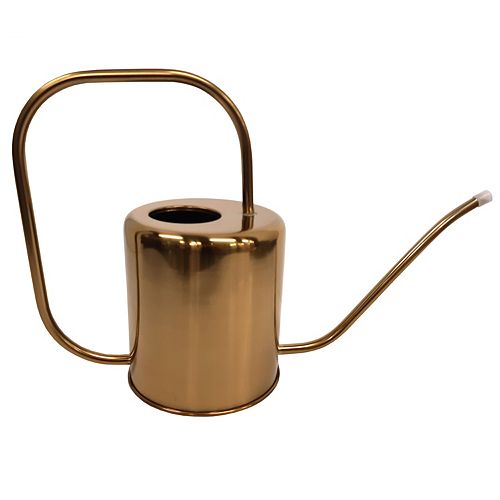 1.5 L Brushed Gold Watering Can