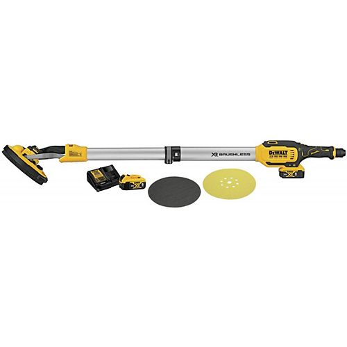 20V MAX Cordless Drywall Sander Kit w/ (2) 5ah Batteries