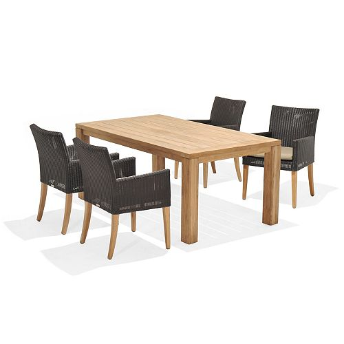 St. Lucia 5-piece Armchair Dining Set