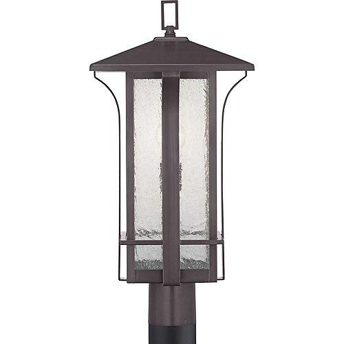 Lanterne sur poteau à une lumière, collection Cullman