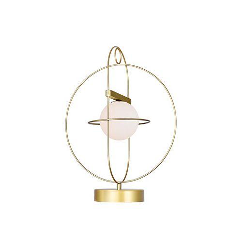 Orbit 14 en 1 Lampe avec médaillon d'or Terminer