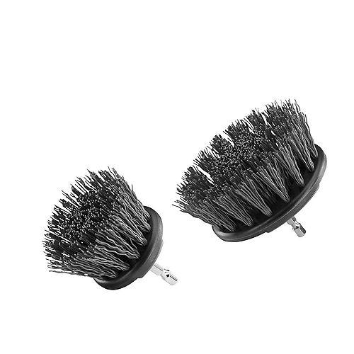 Kit de nettoyage de brosses à poils durs (2 pièces)