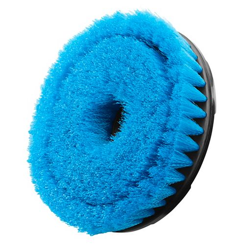 6-inch Soft Bristle Brush Accessory for P4500 and P4510 Scrubber Tools