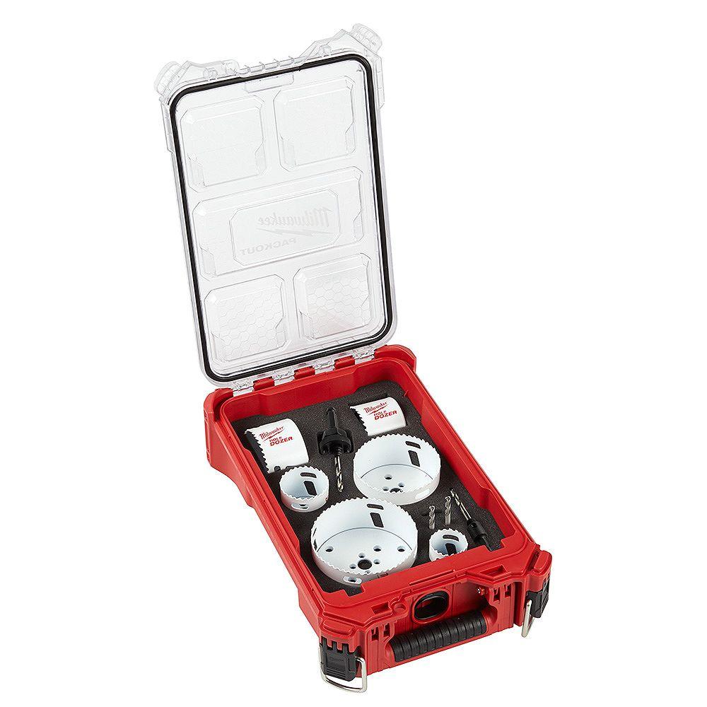 Milwaukee Tool PACKOUT Hole Dozer Kit (10-Piece)