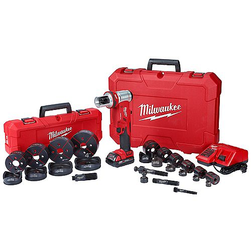 Milwaukee Tool M18 18V Lithium-Ion Cordless Grease Gun 2-Speed with (1) 1.5Ah Battery, Charger & Hard Case