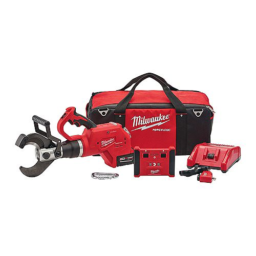 M18 18V Lithium-Ion Cordless FORCE LOGIC 3 -inch Underground Cable Cutter w/Wireless Remote Kit