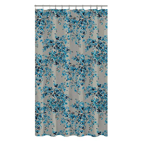 Hycroft Shower Curtain 72 x 72 inch Multicolor Print