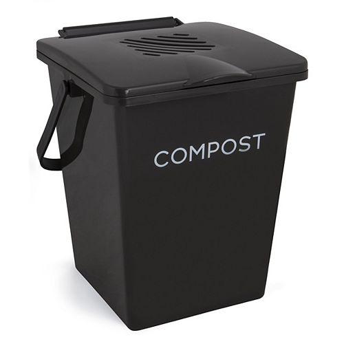 Organi 2 Gal. Collecteur de compost de cuisine Bin Caviar