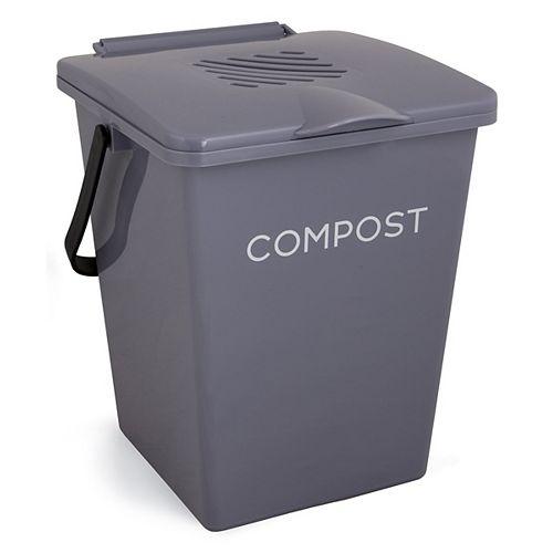 Organi 2 Gal. Bac de collecte de compost de cuisine Fieldstone